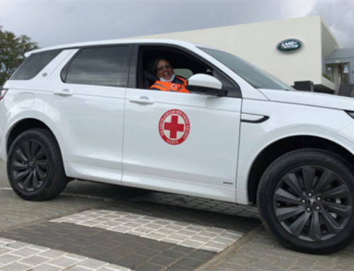 Jaguar Land Rover hands over vehicles to SA Red Cross to minimise coronavirus spread